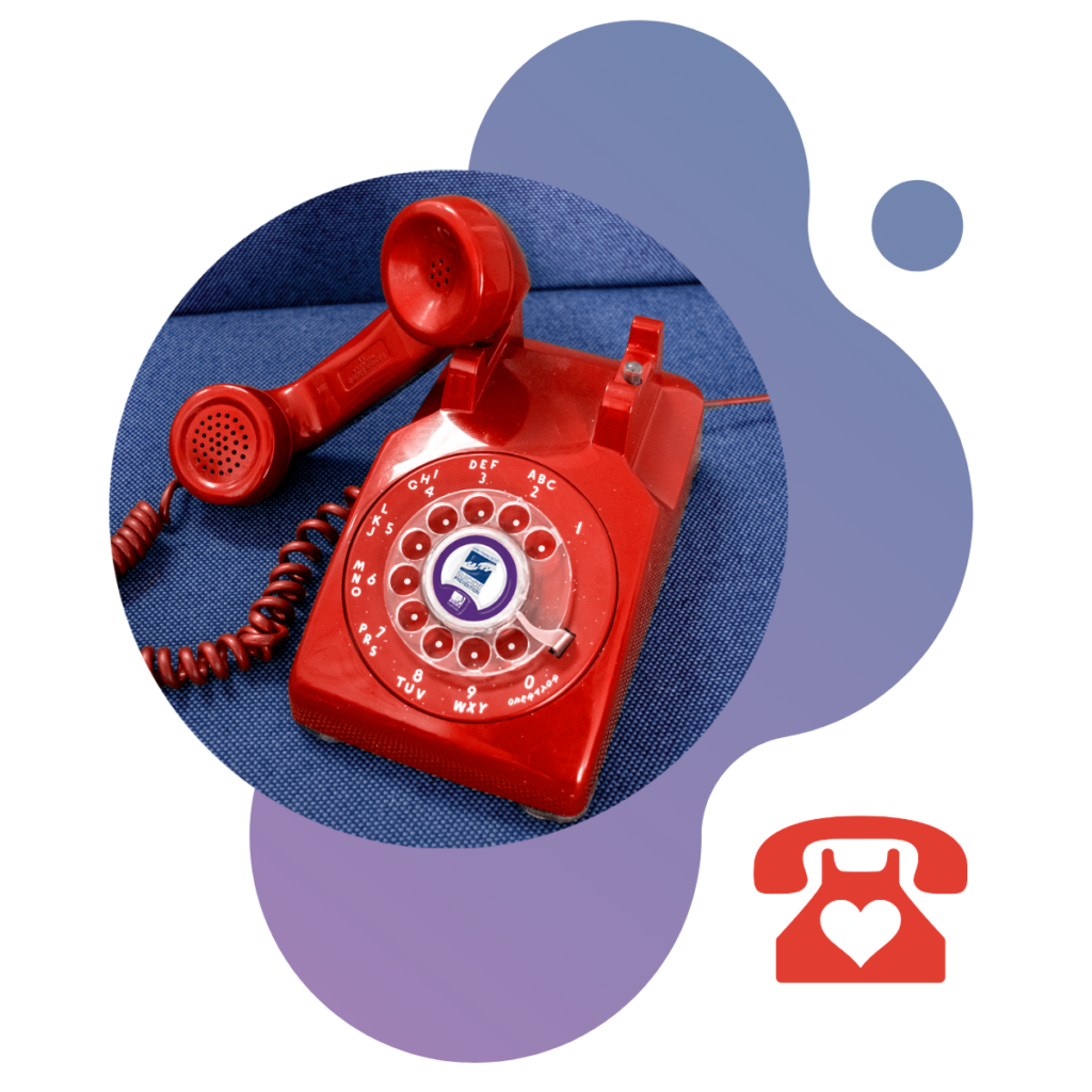 SF Suicide Prevention Red Phone Graphic